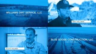 Excavator Systems - Williams Dirt Service and Blue Goose Construction