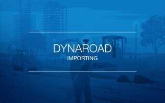 Simple data importing jumpstarts DynaRoad projects
