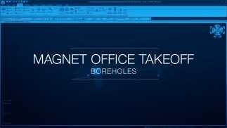Include accurate Borehole data in MAGNET Office Takeoff
