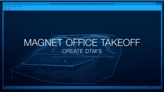 Create data-rich Surfaces in MAGNET Office Takeoff