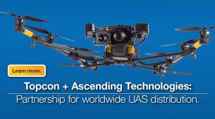 Topcon anuncia la asociación con AscTec® para la distribución mundial de UAS