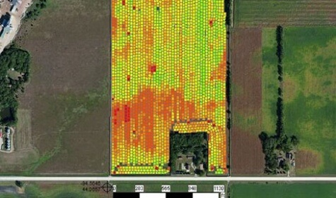 Provide agronomy services, and share completed data remotely